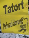 "Stadtgang ""Tatort Privatisierung"""